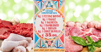 offerta cesto carne mista palermo occasione cesto convenienza macelleria patti