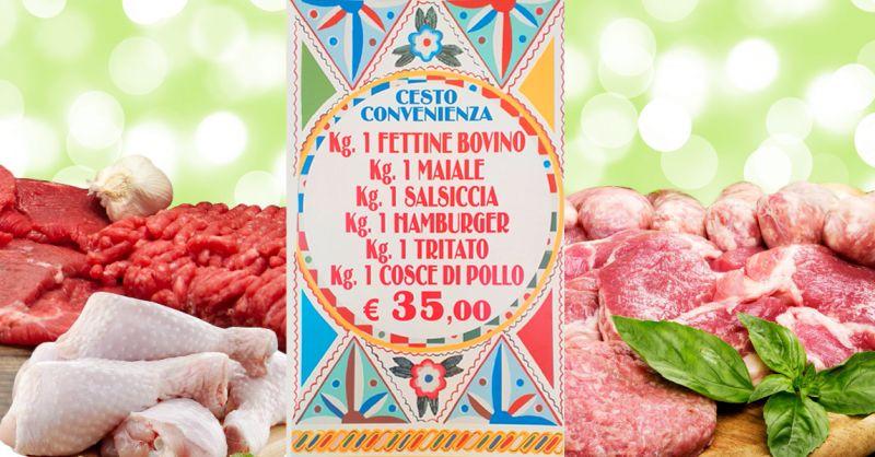 offerta cesto carne mista palermo - occasione cesto convenienza macelleria patti