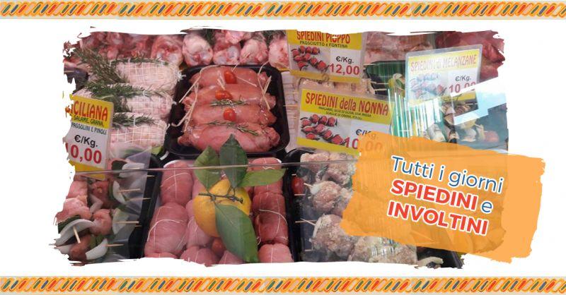 offerta Specialità Involtini Spiedini Palermo -  Occasione Spiedini Involtini Carne su Ordinazione