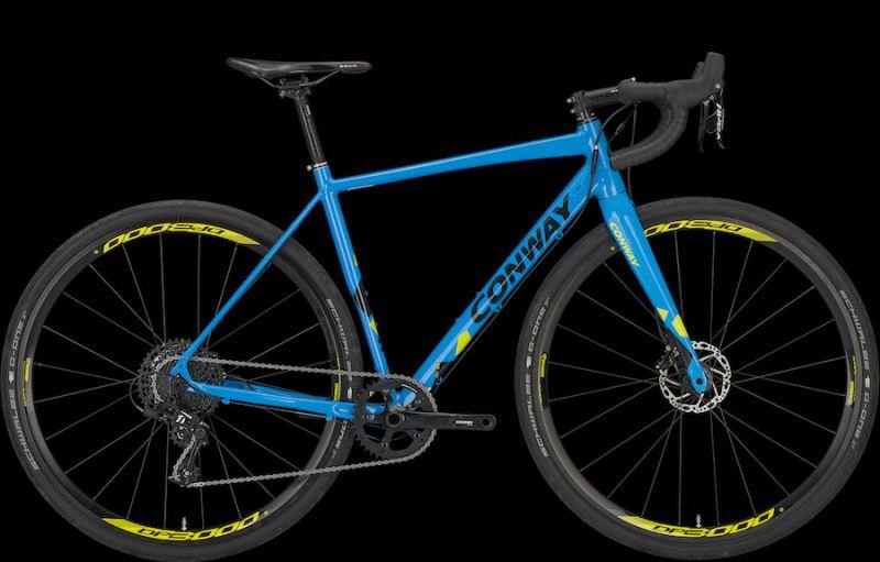 HAREBIKE - OFFRTA CONWAY GRV800 Bici GRAVEL Alluminio 2019