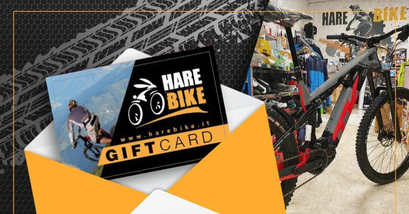 Offerta Gift Card Acquisto Bici MTB Ebike - Occasione Carta Regalo Bici MTB Ebike