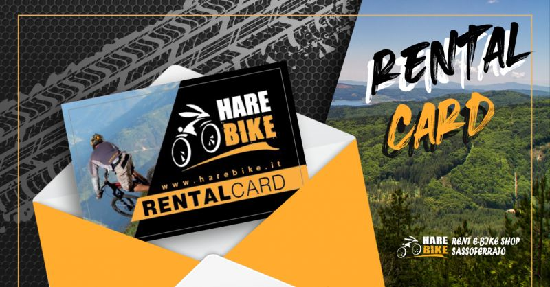 Offerta Carta Noleggio Regalo E bike MTB - Occasione Rental Card E bike MTB