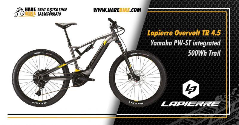 Offerta Lapierre Overvolt TR 4.5 Yamaha - Occasione MtB elettriche sospensione totale