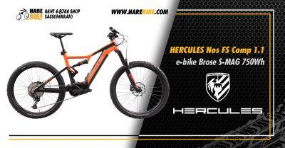 offerta hercules nos fs comp 1 1 occasione hercules e bike brose 750wh