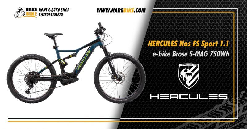 Offerta Hercules NOS FS SPORT 1.1 - Occasione Hercules E-Bike Brose 750Wh