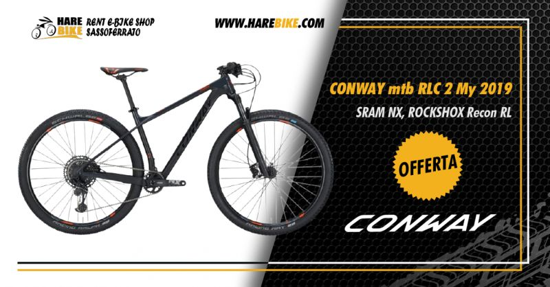 Offerta Bici Conway RLC 2 2019 - Occasione Mountain Bike Conway entry level