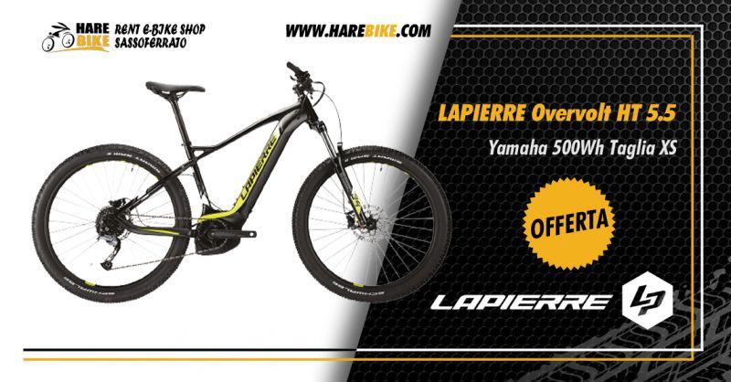 Offerta Lapierre Overvolt HT 5.5 Yamaha XS - Occasione Bici Elettrica Lapierre Overvolt xs