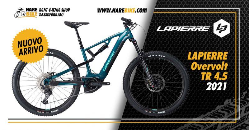 Offerta Lapierre Overvolt TR 4.5 My2021 - Occasione MtB elettrica a sospensione totale