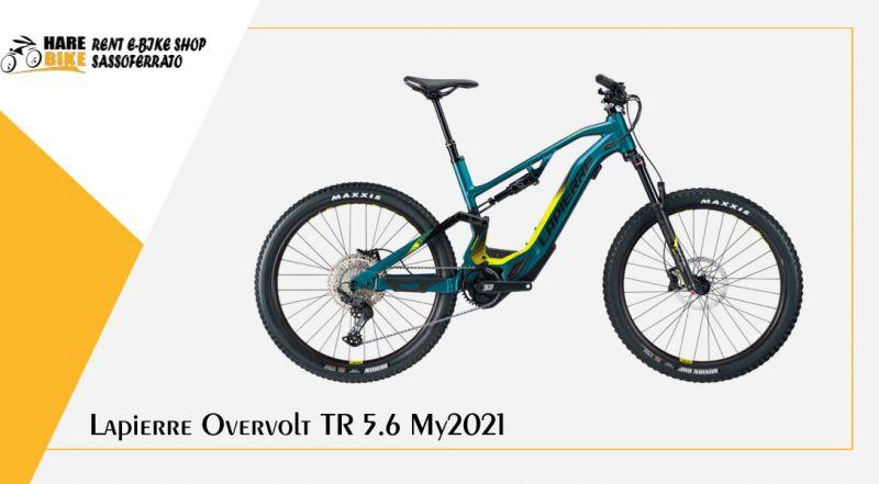 Hare Bike - offerta Lapierre Overvolt TR 5.6 elettrica da enduro ancona