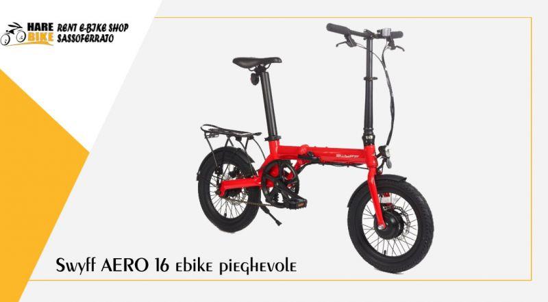 Hare Bike - offerta Swyff AERO 16 ebike pieghevole con pedalata assistita ancona
