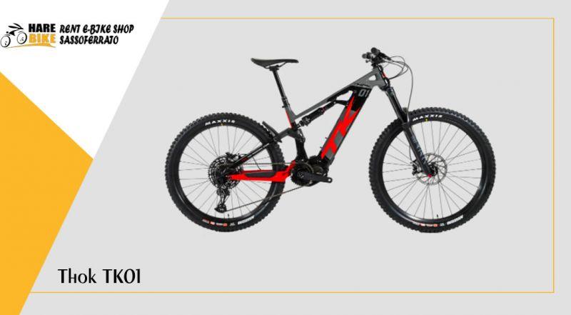 Hare Bike – offerta Thok TK01 e-mtb enduro ancona