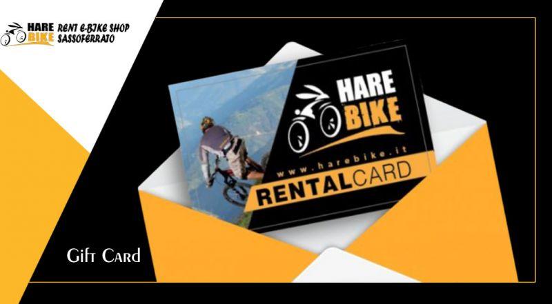 HARE BIKE - offerta gift card per accessori e abbigliamento per il ciclismo ancona
