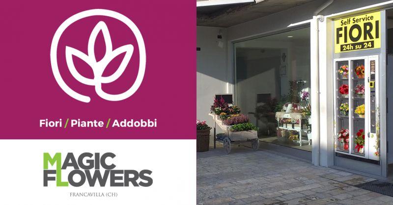 MAGIC FLOWERS- Offerta Distributore Automatico Fiori 24h su 24h Francavilla al Mare