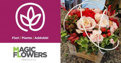 magic flowers offerta fiorario servizio self service francavilla al mare