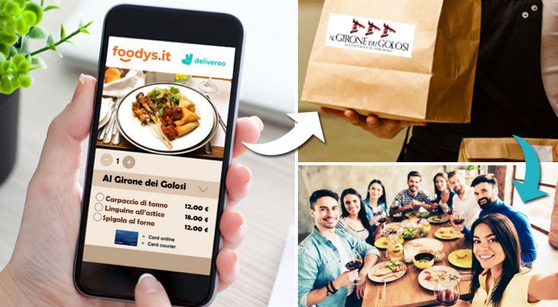 Al Girone dei Golosi Offerta ristorante consegna a domicilio Cosenza – Promozione ristorante ordina online consegna a domicilio Cosenza