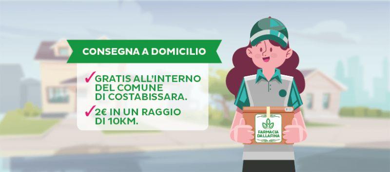 FARMACIA DALLAFINA - Offerta farmacia Costabissara con consegna a domicilio gratuita