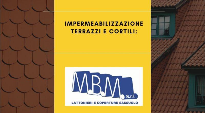 Occasione imperbeabilizzazione balconi, terrazzi, scala esterna a Sassuolo Modena