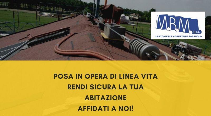 Occasione installazione la linea vita a Sassuolo Modena - ancoraggi per operai tetti a Sassuolo Modena