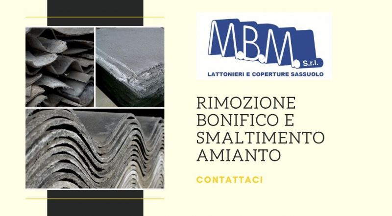 Occasione rimozione smaltimento e bonifica amianto a Sassuolo Modena