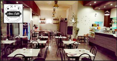 alma caffe creazzo promozione bar servizio buffet per feste di lavoro e compleanni vicenza