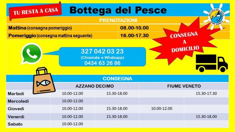 Offerta Consegna Pesce a Domicilio Azzano Decimo - Occasione Fiume Veneto Pesce Fresco a domicilio