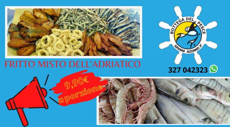 Occasione frittura di pesce del mare adriatico consegna d'asporto a Pordenone Azzano Pasiano Fiume Veneto – Vendita pesce fresco con consegna a casa a Pordenone Azzano Pasiano Fiume Veneto