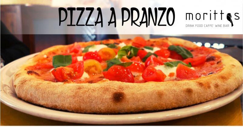 MORITTAS DRINK FOOD CAFFE WINE BAR - offerta pizza a pranzo lievitazione lenta di 75 ore