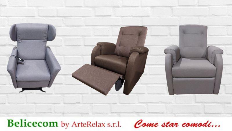 Offerta Poltrone relax reclinabili in promozione Castelvetrano