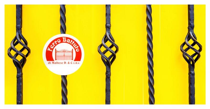 FERRO BATTUTO SNC - Offerta Articoli Ferro Battuto Assemblaggio Cancelli Ringhiere