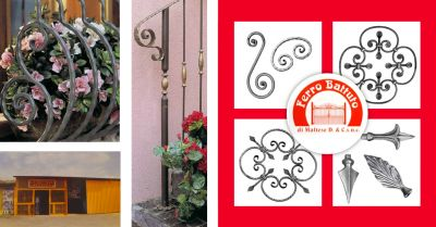 ferro battuto snc offerta vendita elementi per cancelli ferro battuto castelvetrano