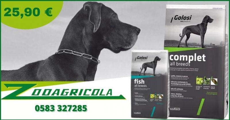 promozione mangime per cane in offerta Lucca - offerta linea i Golosi all breeds e fish