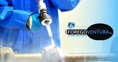 offerta specialisti nella pulizia con ghiaccio secco occasione servizio di sabbiatura criogenica