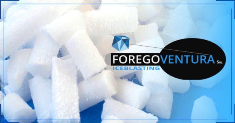 FOREGOVENTURA - Offerta fornitura ghiaccio secco per macchine pulizia criogenica