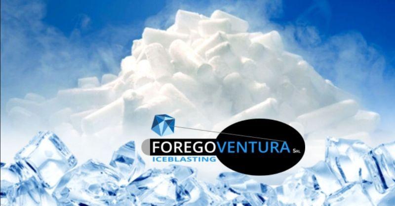 FOREGOVENTURA - Offerta fornitura ghiaccio secco per pulizia criogenica settore alimentare trasporto refrigerato