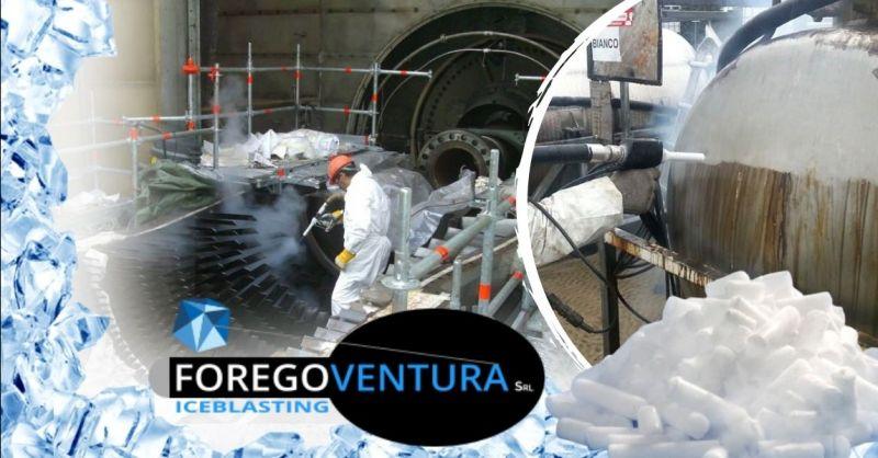 Offerta interventi professionali di pulizia con ghiaccio secco - Occasione interventi di pulizia criogenica