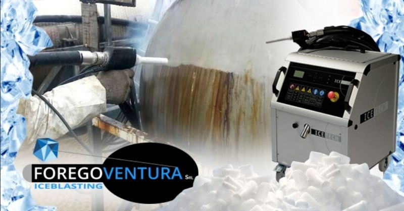 FOREGOVENTURA - Offerta fornitura ghiaccio secco macchinari per sabbiatura criogenica