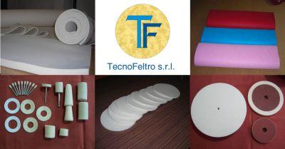 offerta lavorazione vendita prodotti feltro occasione dischi in feltro per lucidatura