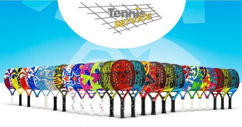 TENNIS SERVICE negozio di articoli sportivi - offerta attrezzatura per beach tennis migliori marchi