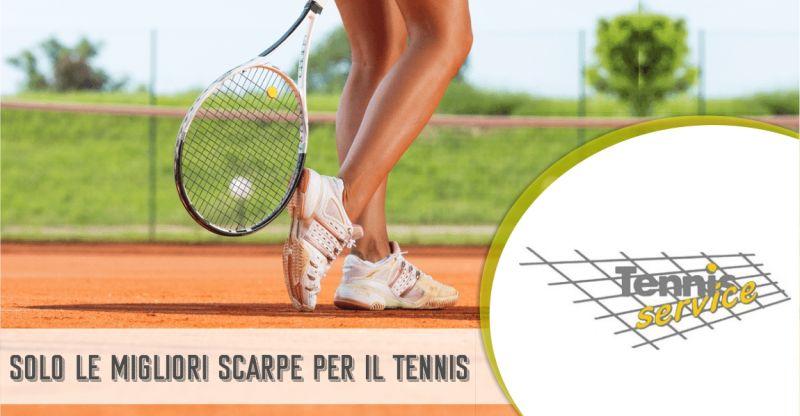 TENNIS SERVICE negozio di articoli sportivi - offerta migliori scarpe per giocare a tennis