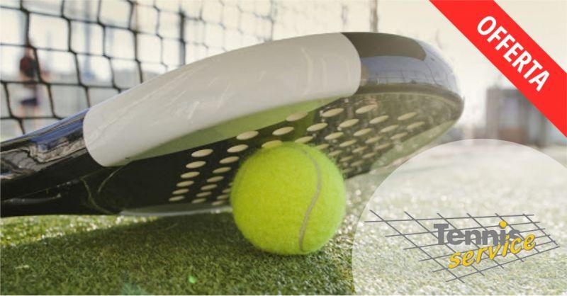 TENNIS SERVICE negozio di articoli sportivi - offerta attrezzatura per il padel dei migliori marchi