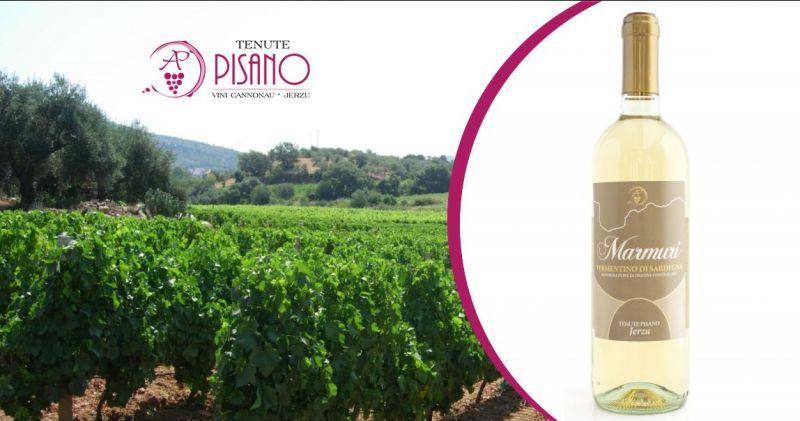 TENUTE PISANO Jerzu - offerta vino bianco Marmuri vermentino di Sardegna