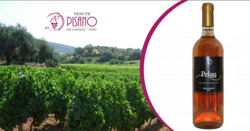 TENUTE PISANO Jerzu - offerta vino rosato Pelau Indicazione Geografica Tipica