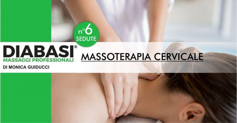 MONICA GUIDUCCI massaggi professionali - offerta sei sedute di massoterapia cervicale