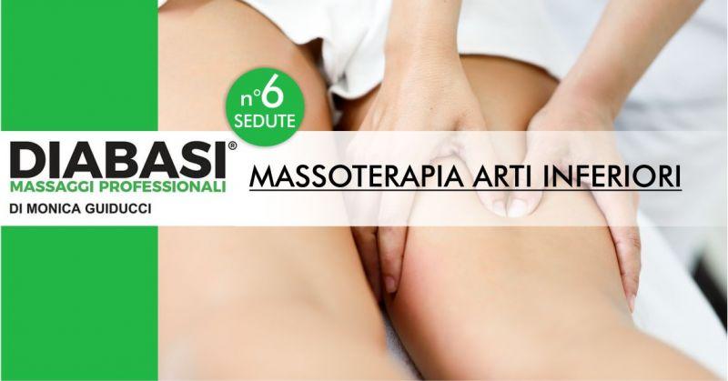 MONICA GUIDUCCI massaggi professionali Nuoro  - offerta sei sedute di massoterapia arti inferiori