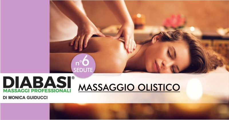 MONICA GUIDUCCI massaggi professionali Nuoro - offerta sei sedute massaggio olistico