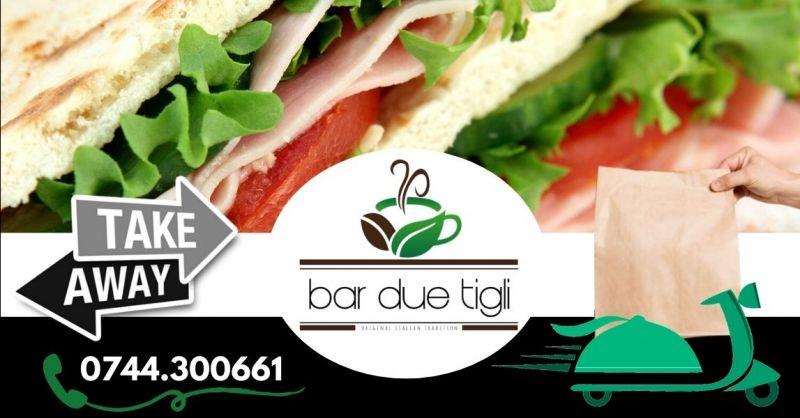 Offerta dove mangiare panini freschi Terni - Occasione bar per spuntini veloci take away Terni