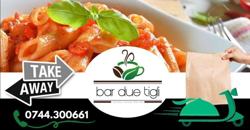 Offerta bar con primi piatti d'asporto Terni - Occasione pranzi per aziende da asporto Terni