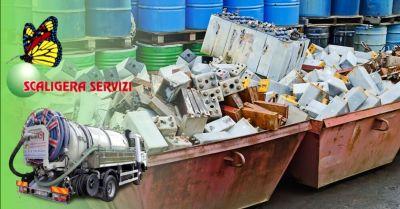 scaligera servizi offerta trasporto e smaltimento rifiuti pericolosi e non verona