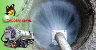 scaligera servizi occasione disotturazione e lavaggio professionale tubi di scarico verona