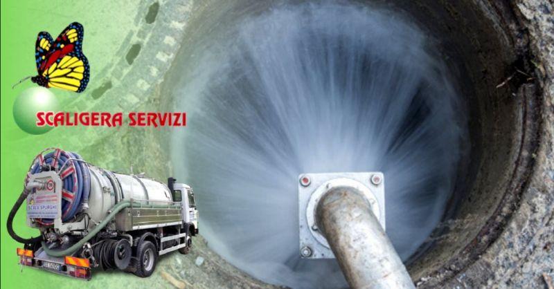 SCALIGERA SERVIZI - Occasione disotturazione e lavaggio professionale tubi di scarico Verona